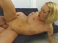 Small tits and young slut make dick strong