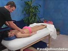 BustyTeen Seduced on Massage Table