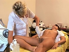 Demonstration LASER Epilation Hot PUSSY Teen - NV