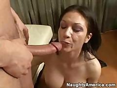 Horny Latina Mom Fucks A Young Stud