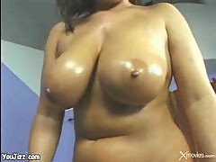 Big floppy oiled up hangers