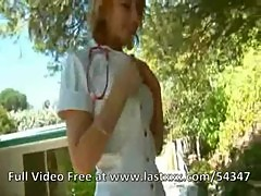 Lexi Belle cute nurse makes a house call