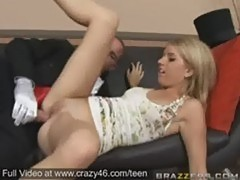 Lexi belle gets a big dick for her party