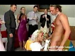 Wedding party orgy