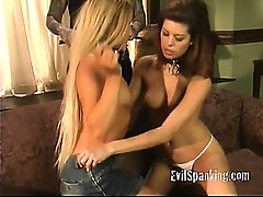 Teen girls Spanked 2