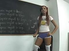 Teen Veronique Classroom Cock Loving