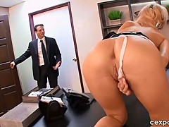 Horny Young Secretary