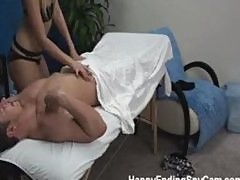 Teen Massage Girl Caught Fucking on Spy Cam!