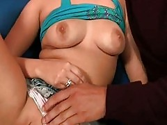 Husband and wife pleasure the sitter VanessaCage