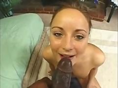 Cute Swedish Girl Loves Black Cock