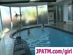 Swimming lessons, between her legs clip 1
