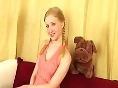Pigtail anal teen