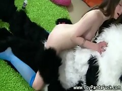 Teen his toypanda cock show topless artist nothing