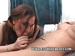 Big Tit Teen On Shemale Miki