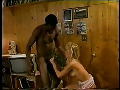 Busty Blonde Teen Lauryl Canyon Gets Interracially Fucked - Classic Porn