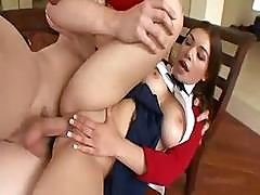Cute Schoolgirl Laylah Diamond Sucks And Gets Her Ass Fucked