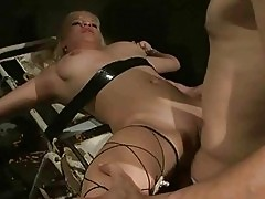 Young slavegirl getting punished and fucked