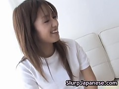 Ami matsuda sucks dildo and cock 5 by slurpjapanese