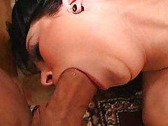 Californian chick gagging on dick
