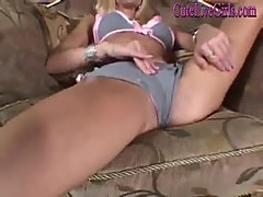 She Strips And Plays With A Dildo(1).wmv
