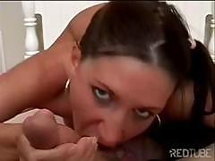 Unvirtuous Gold Digger With An Ethereal Piss Hole Milks A Boner