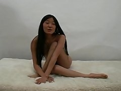 Cute French Asian Teen Girl