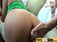 Nasty Teens Gets Hard Banged At Party video-14
