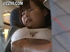cute teen gagged to geek on plane