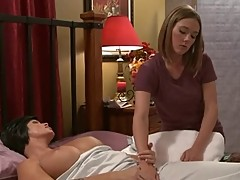 Shay Fox fucks the masseuse
