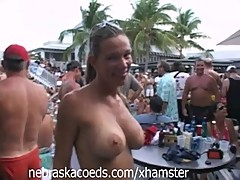 Nudist Pool Party Key West