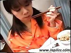 Japanese Cutie Patient Gets A Full Meal From A Young Nurse