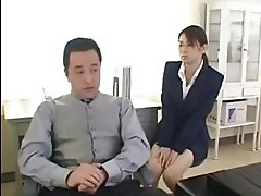 Office girl with CEO