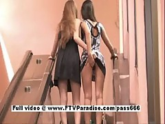 FTV girls Faye and Larysa, stunning lesbi ...