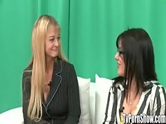 Amateur Girls on a TV Porn Show - TvPornShow.com