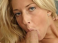 A Skinny Blonde Is Looking For Some Cock