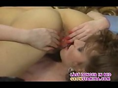 Busty in hot lez 69 action part2