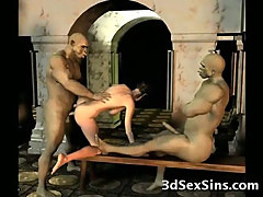 3D Demons Fuck Hot Babes!