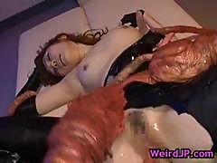Asami Ogawa Gets Fucked By Huge Crab Part2