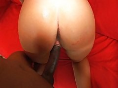 18 years old fucked by big black cock