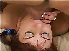 Barely Legal Babe Gets A Throat Fucking