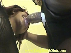 Married Slut gives sloppy blowjob!!