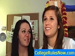 Sexy College Videos And Dorm SexTapes - CollegeRulesNow.com - movie-05