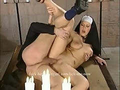 Catholic nun fucked by priest