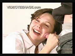 Amelie - french teen laughing