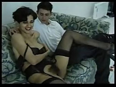 French Milf Takes Young Cock Up Her H...