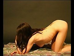 Young brunette playing with herself 1