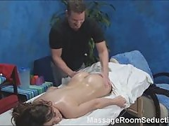 Horny Teen Gets Hidden Camera Massage!