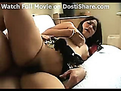 Indian Babe Gets A Big Cock
