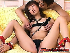 Hiromi aoyama gets clit brushed