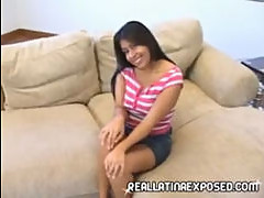 Self pleasuring latina teen